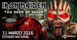 Iron Maiden @ Estadio Nacional | Ñuñoa | Región Metropolitana | Chile