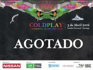 Coldplay  [SOLD OUT] @ Estadio Nacional | Ñuñoa | Región Metropolitana | Chile