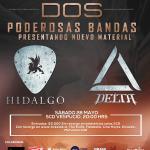 Hidalgo y Delta se presentan en concierto doble