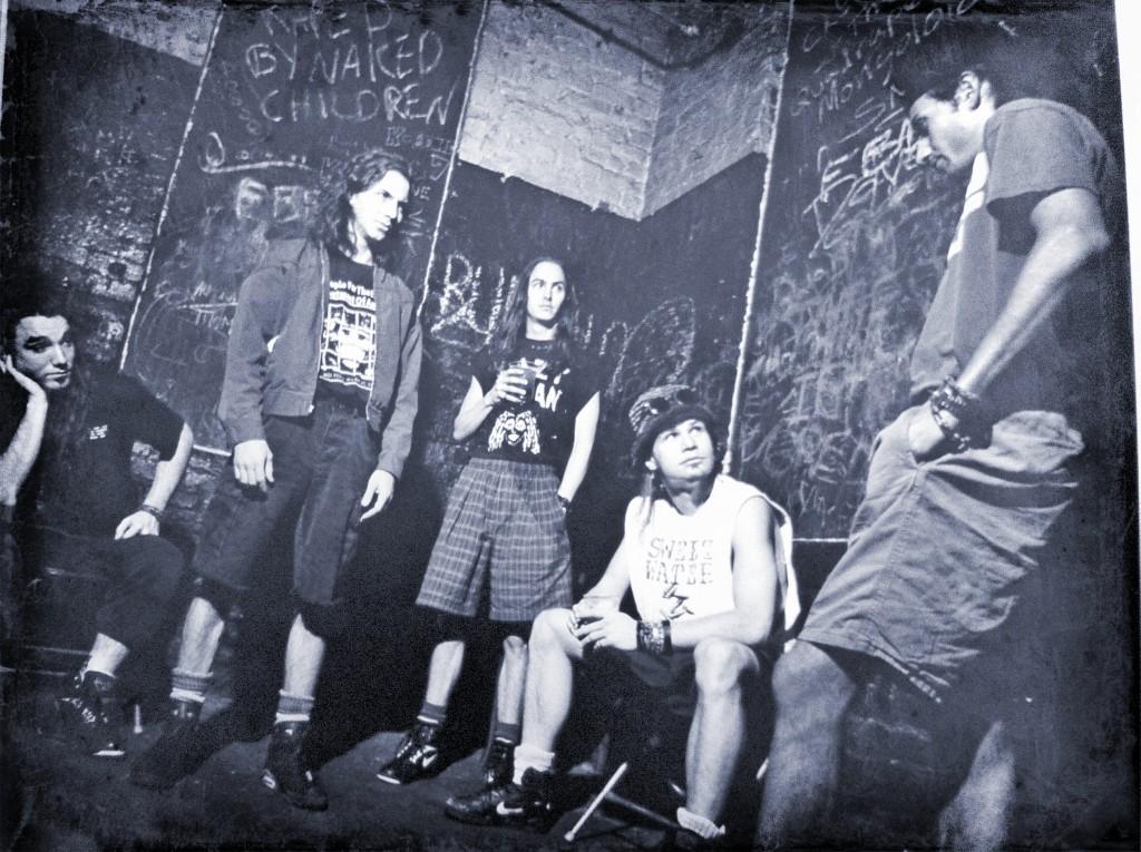 Pearl Jam en 1991.