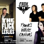 THE FLICK LESLIES, FRANK´S WHITE CANVAS & FROX CIERRAN EL AÑO EN CLUB CHOCOLATE