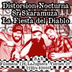 [Evento] La Fiesta del Diablo + Distorsión Nocturna + Sr. Skaramuza
