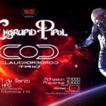 [Evento] 17 de marzo: Engrupid PiPoL + Claudio Cordero