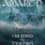 Amon Amarth llegará a Chile junto a Abbath