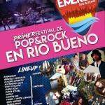 """Río Bueno tendrá su primer festival de rock-pop """"Emerge"""""""