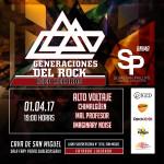 """IGED Records presenta la segunda parte de """"Generaciones del Rock"""""""
