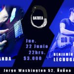 04 banda + Benjamin Lechuga en La Batuta