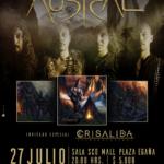 Austral lanzará su disco debut en un show junto a Crisalida